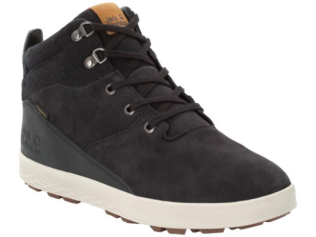Jack Wolfskin Auckland WT Texapore Chaussures Homme, black/beige